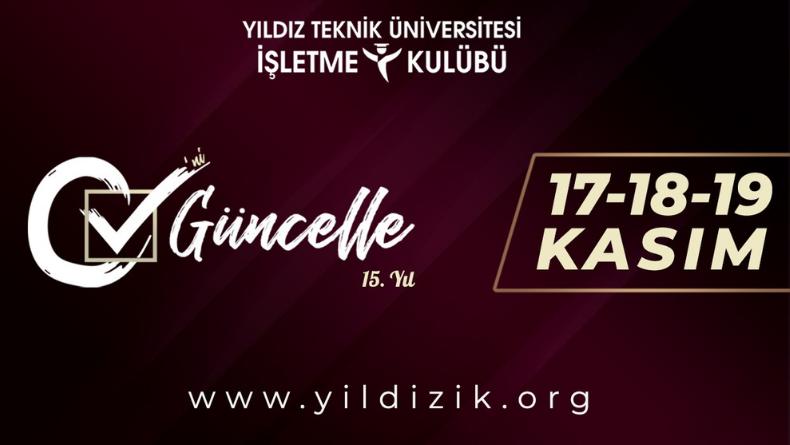 Öğrenci Kariyeri - Üniversite Etkinlikleri: YıldızİK ile 17-18-19 Kasım'da CV'nizi Güncelleyin!