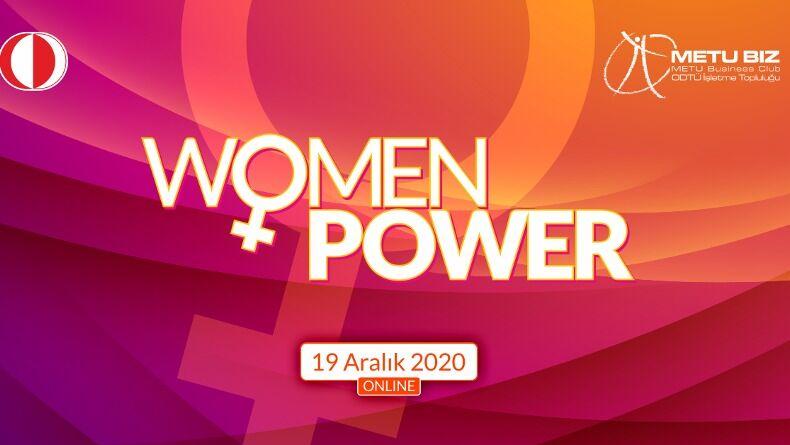 ODTÜ İşletme Topluluğu Women Power Etkinliği Başlıyor!
