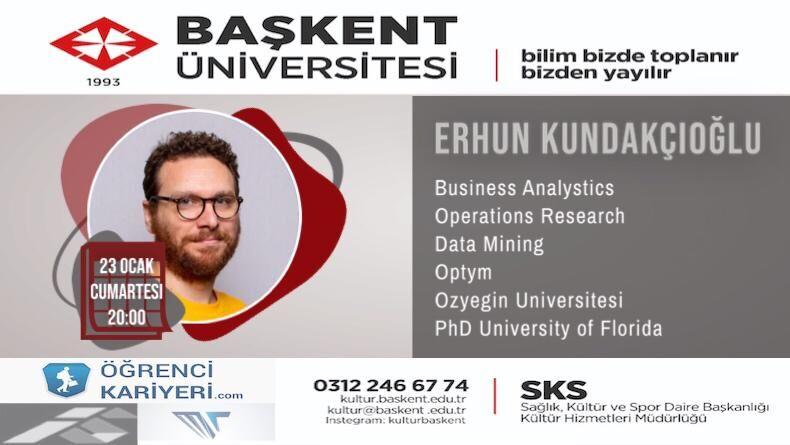 Öğrenci Kariyeri - Üniversite Etkinlikleri: Başkent Üniversitesi Verimlilik Topluluğu Kariyer Sohbetleri Başlıyor !