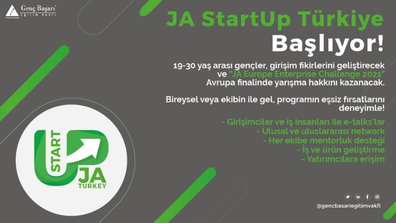Öğrenci Kariyeri - Konsept Etkinlikler: JA StartUp Türkiye Başlıyor!