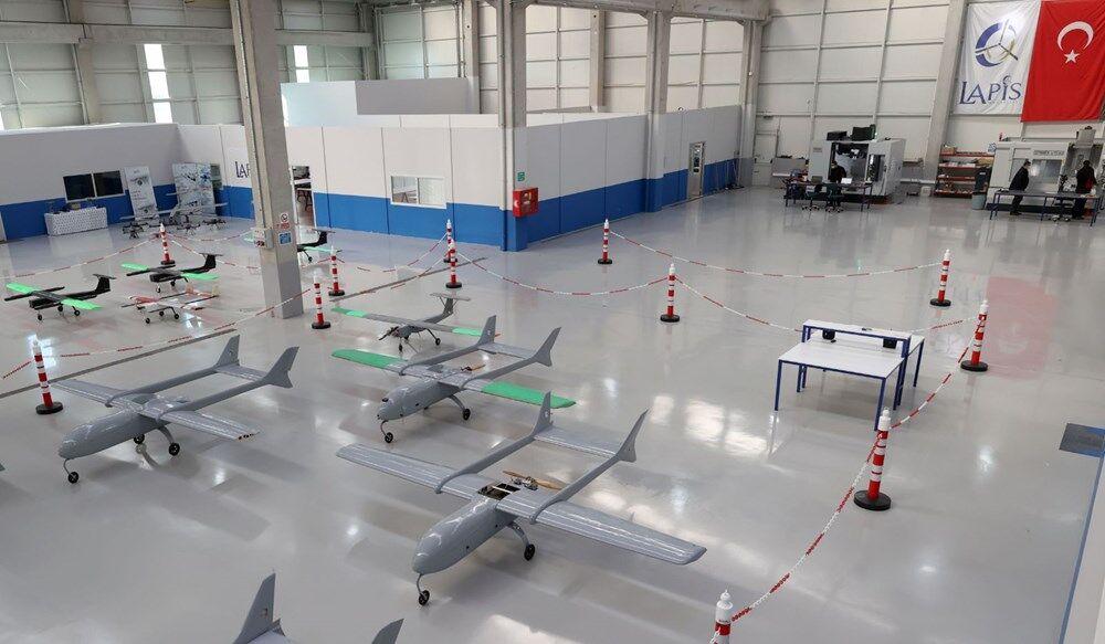 Öğrenci Kariyeri - Gündem: LAPİS Havacılık'ın Yeni İHA Fabrikası Ankara'da Üretime Başladı