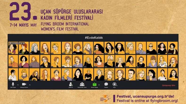 24. Uçan Süpürge Uluslararası Kadın Filmleri Festivali'nde Tema ve Tarih Belli Oldu!