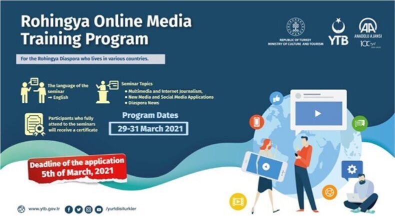Rohingya Online Medya Eğitim Programı Başvuruları Açıldı!