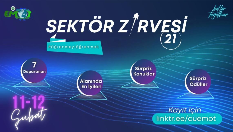 Çukurova Üniversitesi Sektör Zirvesi Etkinliği Başlıyor!