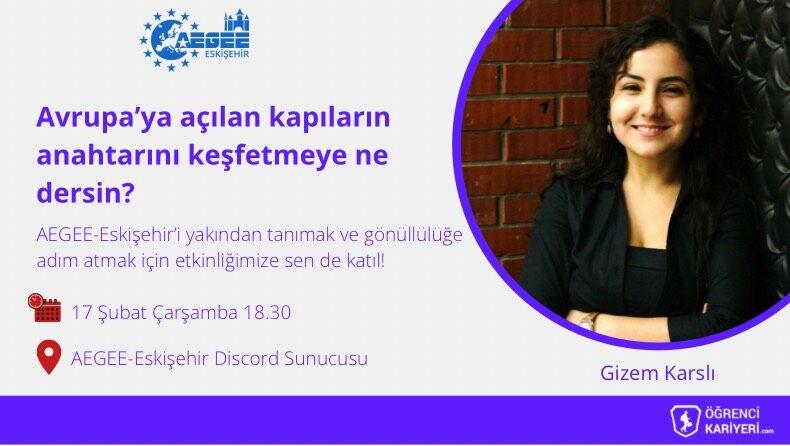 Eskişehir AEGEE Avrupa Kapısına Açılan Yol!