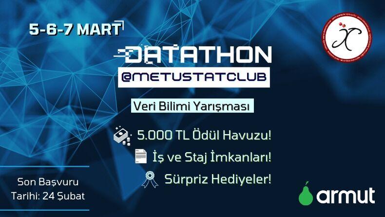 Datathon@METUSTATCLUB Başvuruları Açıldı!