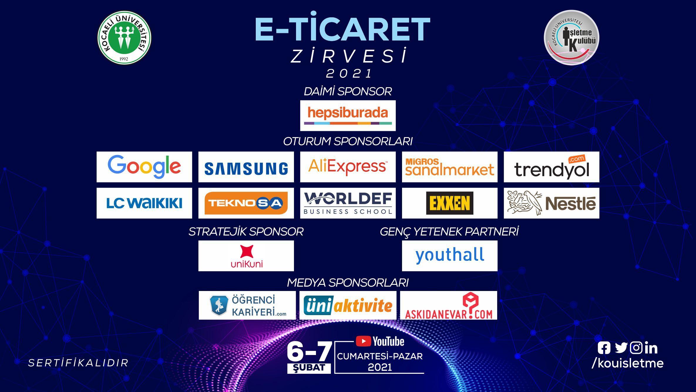 E-Ticaret Zirvesi 2021 Başlıyor!