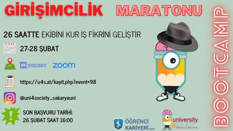 Girişimcilik Maratonu Başlıyor!