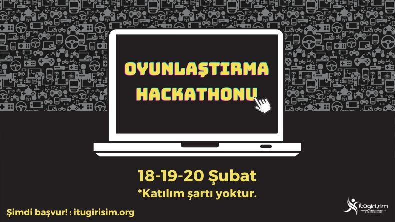İTÜ Oyunlaştırma Hackathonu Başlıyor!