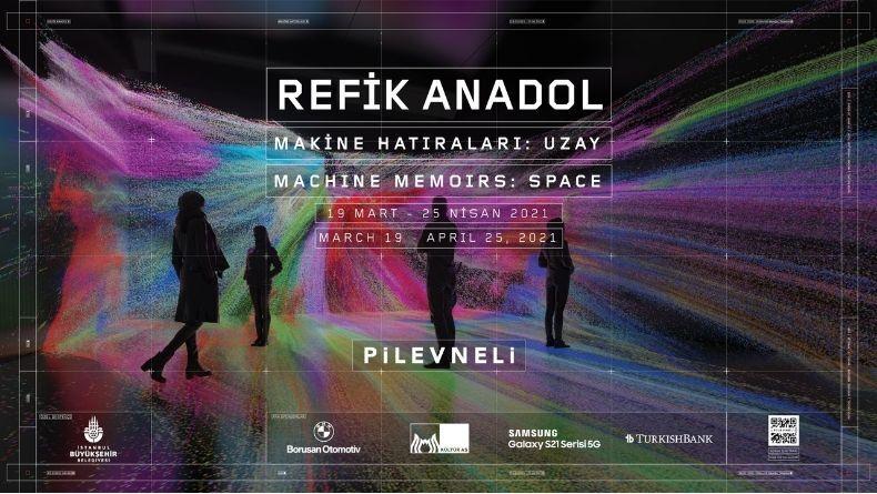 Refik Anadol'un Yeni Sergisi ''Makine Hatıraları: Uzay''