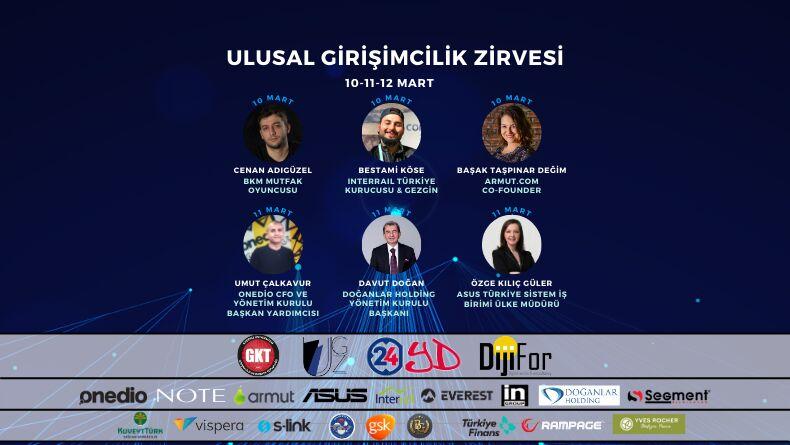 13. Ulusal Girişimcilik Zirvesi Başlıyor !