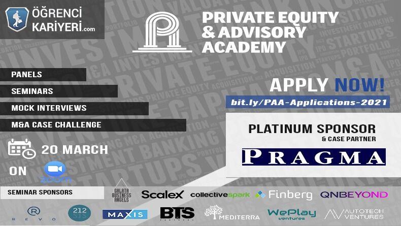 Boğaziçi Private Equity&Advisory Academy Başlıyor!