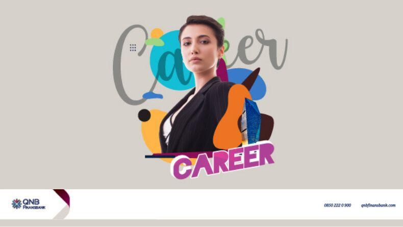 """QNB Finansbank Career """"Geleceğini Tasarla"""" Webinarı"""