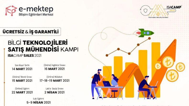 Bilgi Teknolojileri Satış Mühendisi Kampı Başlıyor!