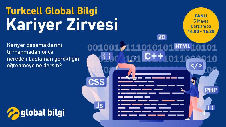 Turkcell Global Bilgi Kariyer Zirvesi'nde Yerini Ayır!