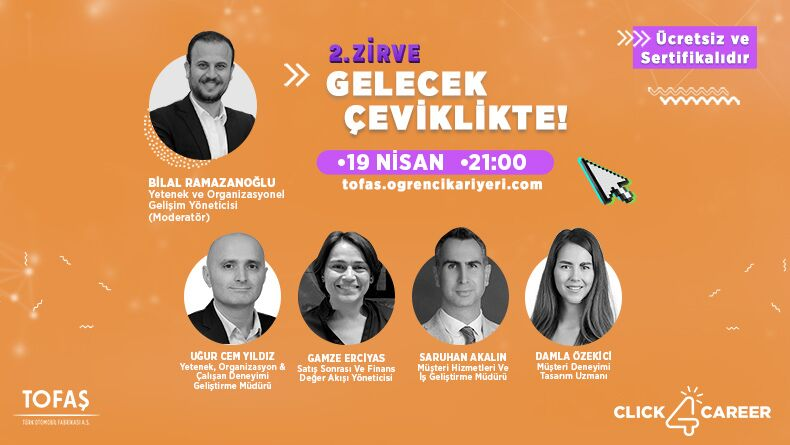 "TOFAŞ Click4Career: ""Gelecek Çeviklikte"""