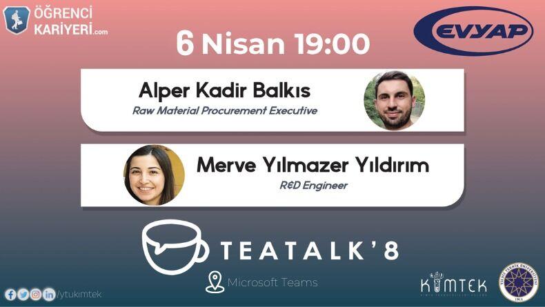 Teatalk'8 Başlıyor!