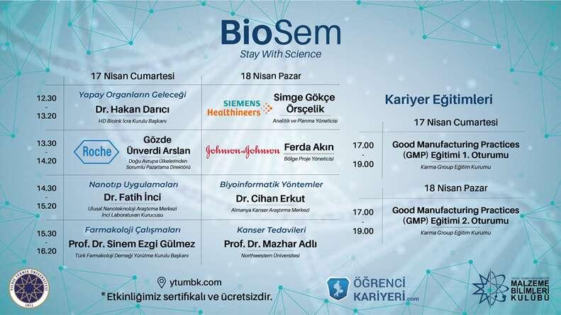 BioSem Başlıyor!