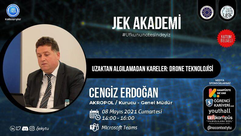 JEK Akademi Drone Teknolojisi Başlıyor!