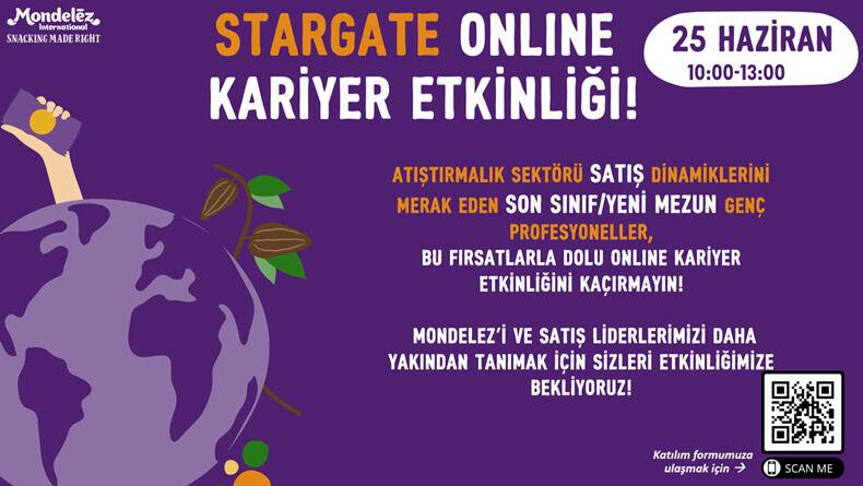 Mondelez Star Gate Online Kariyer Etkinliği