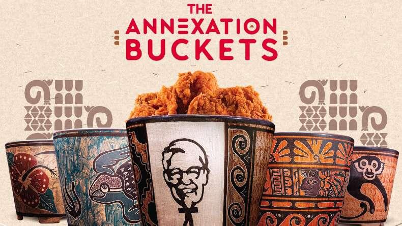 Eski Bir Kültürden Esinlenildi: KFC Kovaları