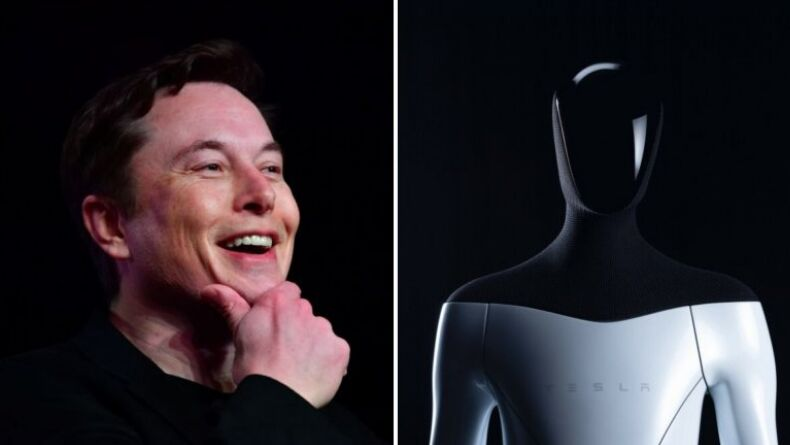Elon Musk İnsansı Robotunu Tanıttı: Tesla Bot!