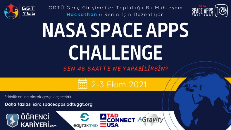 NASA'nın Herkese Açık Yarışması Space Apps Challenge Başlıyor!