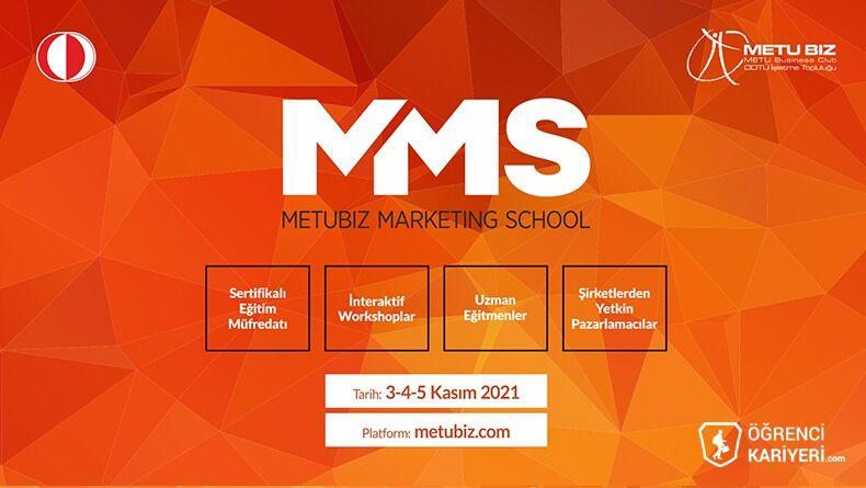 METUBIZ Marketing School Başvuruları Devam Ediyor!