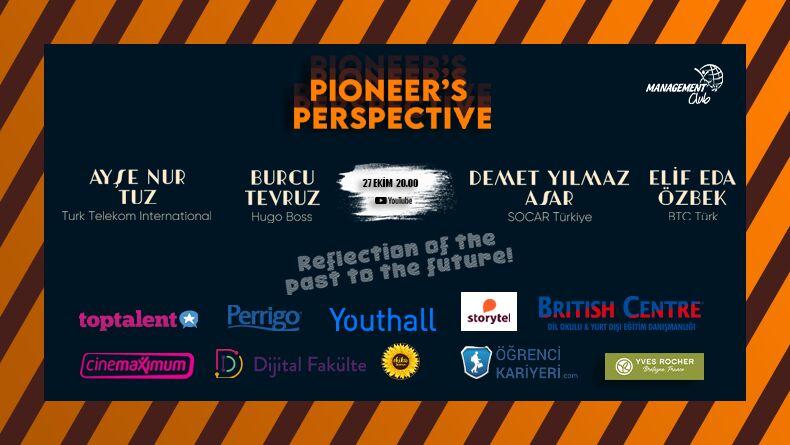 Pioneer's Perspective 27 Ekim'de Başlıyor!