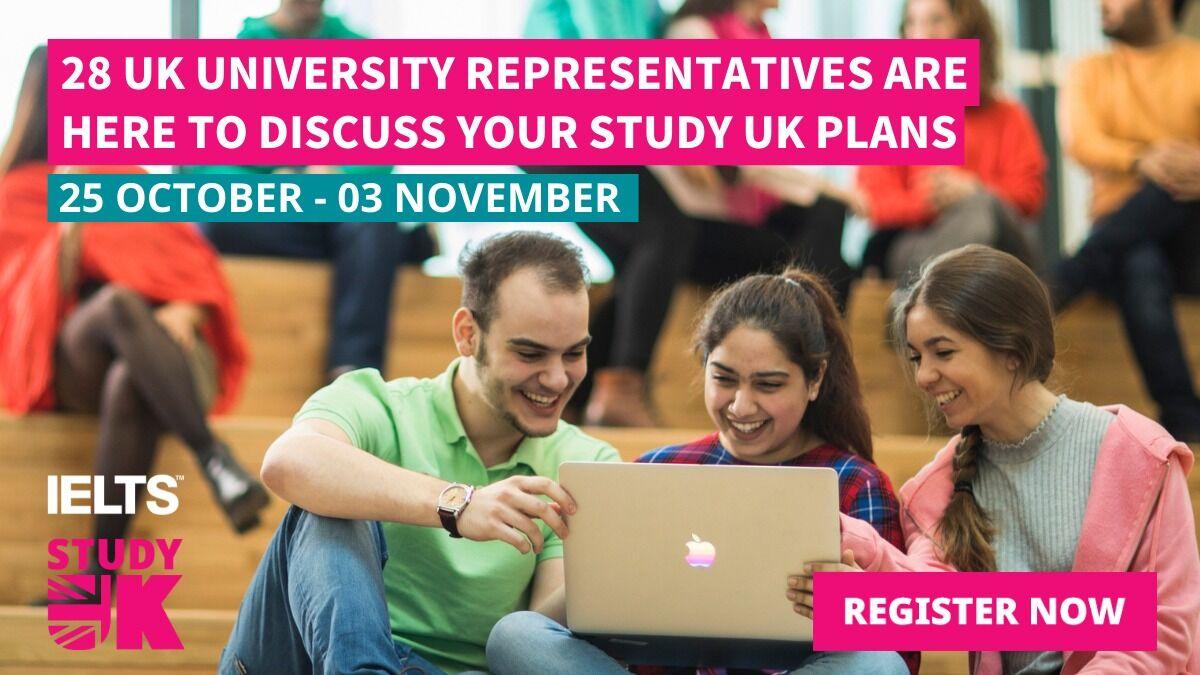 Birleşik Krallık'ın Önde Gelen 28 Üniversitesi İle Tanışın: Birleşik Krallık Üniversiteleri İle Tanışma Çevrimiçi Etkinliği