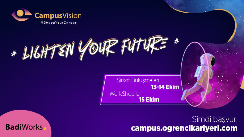 Campus Vision İle Kariyerini Şekillendir!