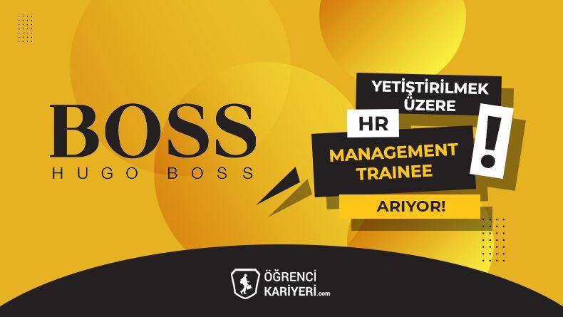 Hugo Boss Yetiştirilmek Üzere HR Management Trainee Arıyor!