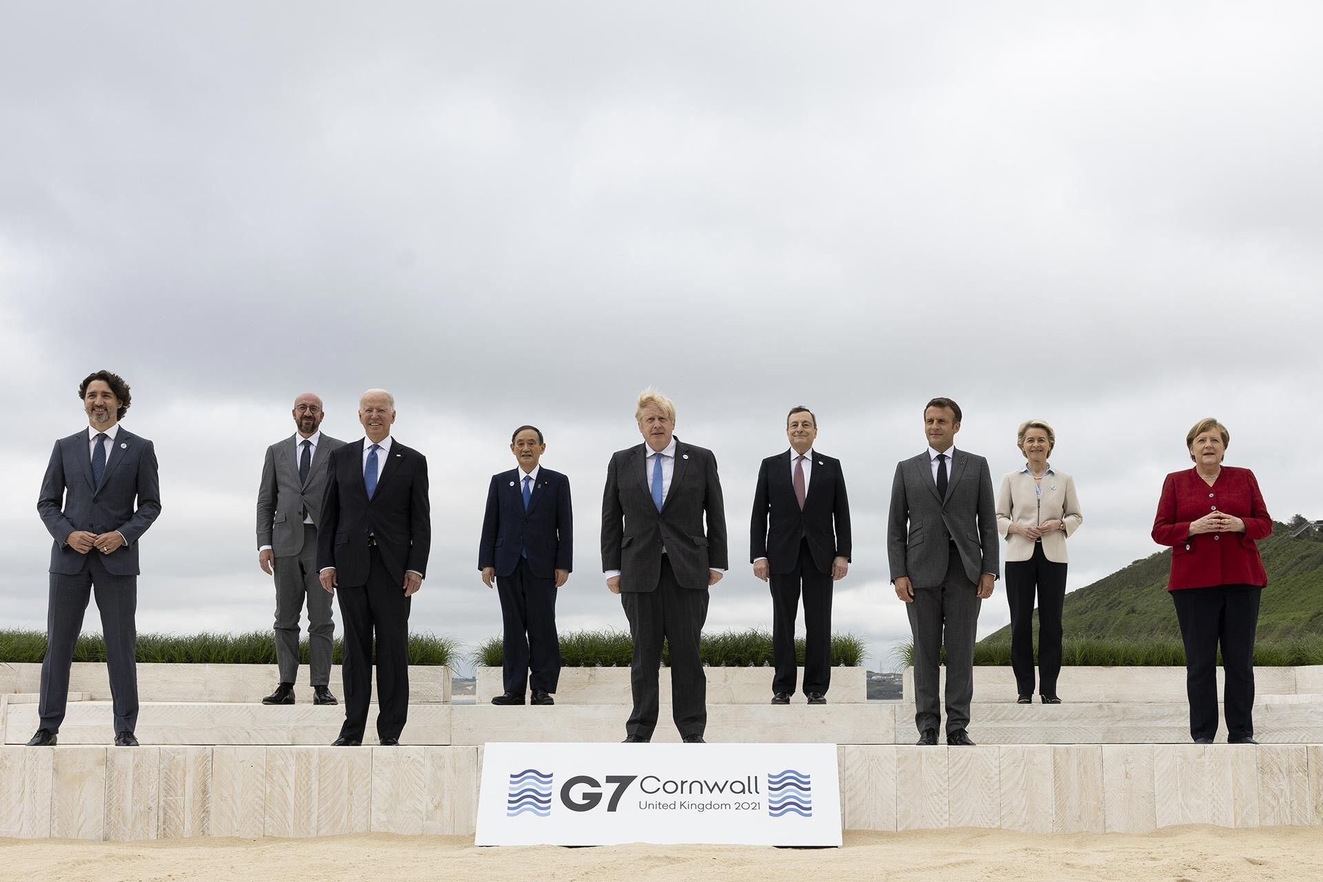 G7Zirvesi: Liderler İngiltere'de Buluştu
