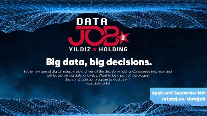 Öğrenci Kariyeri - Staj (Uzun Dönem & MT): Yıldız Holding Data JOB Programına Başvur