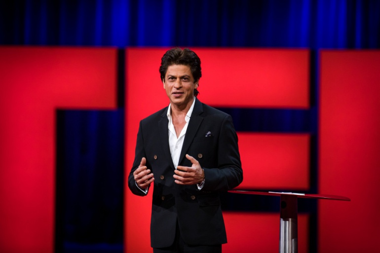 Shah Rukh Khan speaks at TED2017 - The Future You, April 24-28, 2017, Vancouver, BC, Canada. Photo: Marla Aufmuth / TED
