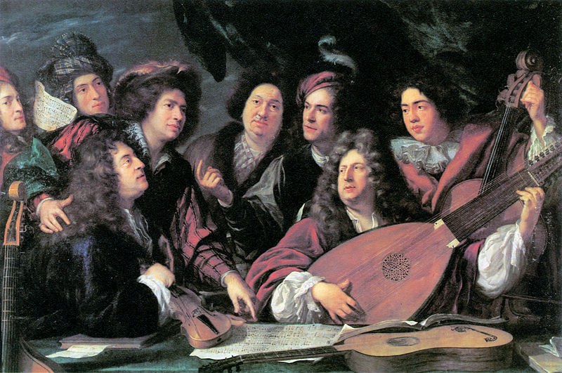 800px-Portrait_of_several_musicians_and_artists_by_François_Puget_1688_-_Brunel_1980_p31